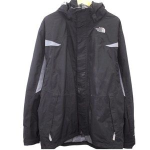 T172 The North Face Full Zip Nylon Jacket Large